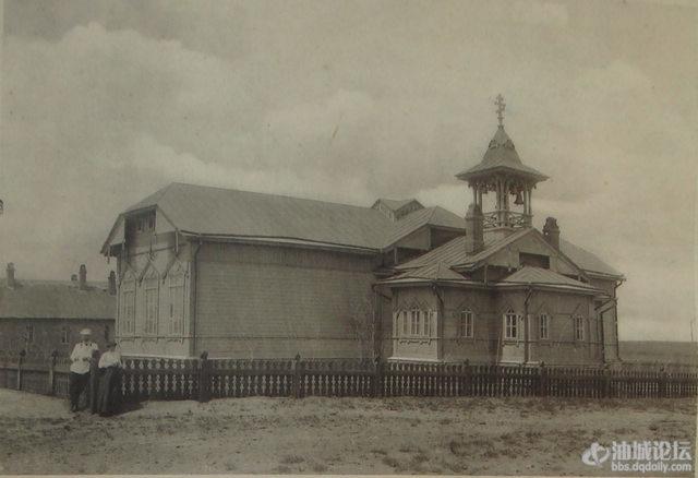 昂昂溪车站(原称齐齐哈尔车站)教堂