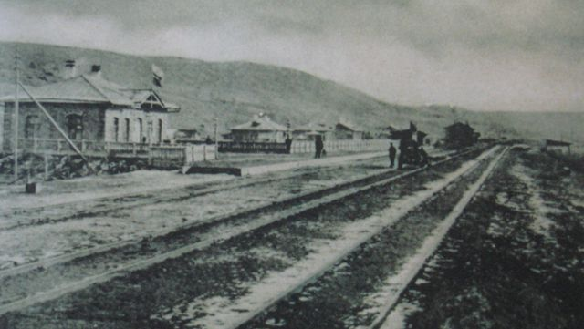 2、百年前马桥河子站历史照片