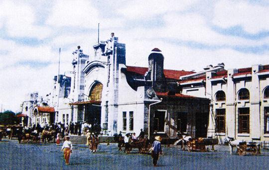 2、始建于1903年的原哈站老站舍_副本