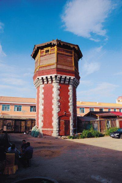 满洲里货场内的老水塔