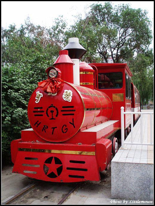 """第四代复古式""""少先号""""机车"""