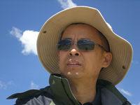 摄于海拔4700米的西藏纳木错湖畔,2010年8月