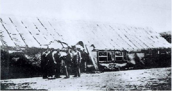 图2为中东铁路工程局最初的驻地