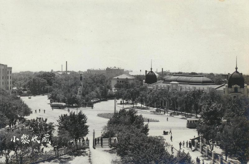 五十年代初期南岗区黑龙江省博物馆