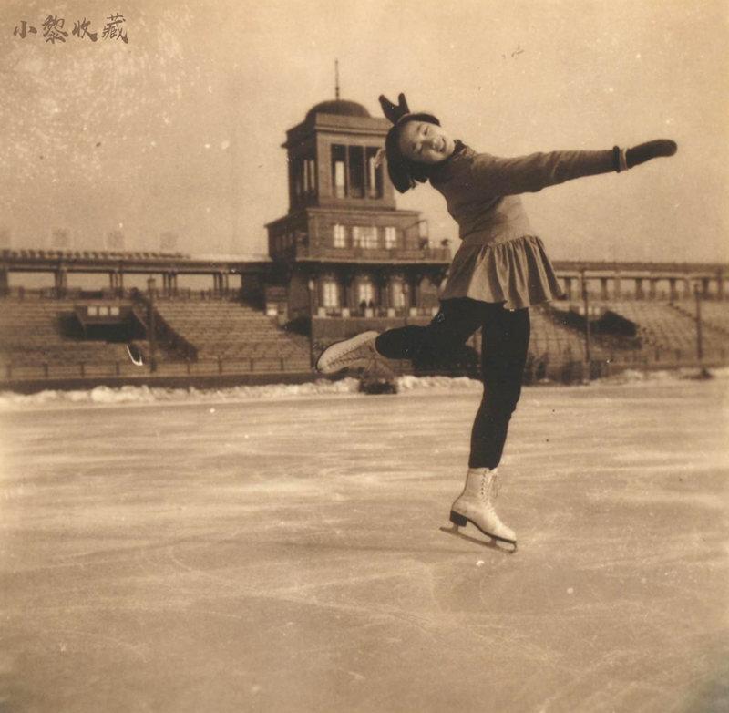 1959年全国冬季运动会在道外八区体育场举行