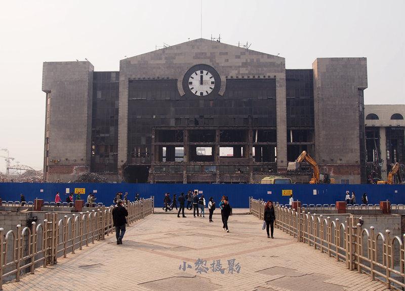 2017年哈尔滨火车站站前广场